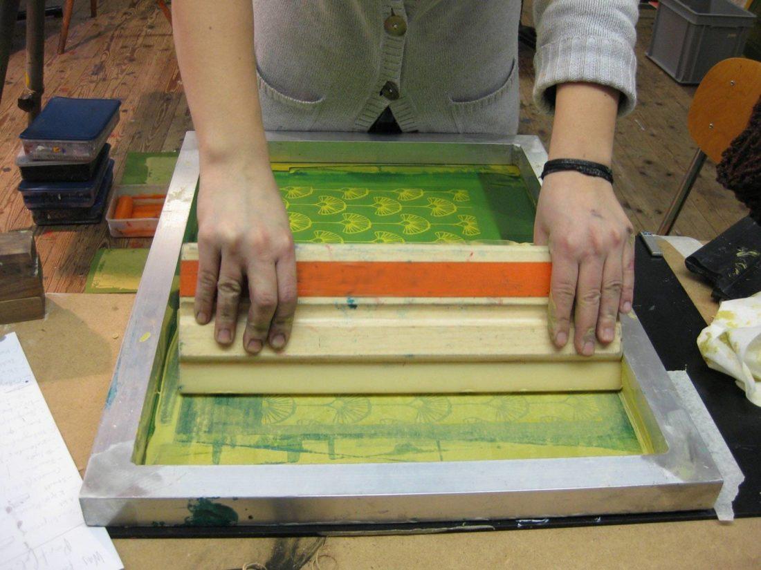 Textiler Siebdruck